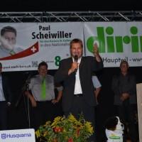 Toni Brunner, Parteipräsident Schweiz