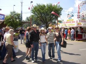 Calgary  2007  beim Rodeo-Festival