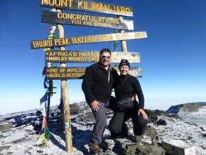 Wir haben's geschafft !!    Besteigung des Kilimanjaro  2014