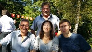 mit Werner+Conny Heule und Marcel A.