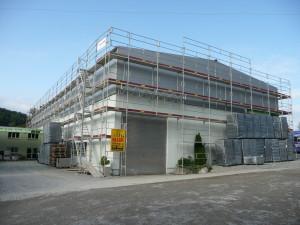 Dachaufbau 2008