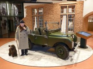 von der Emil Frey Classics restauriertes Auto von Sir Winston Churchill