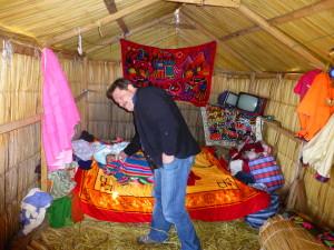 Peru, Hütte der Uros
