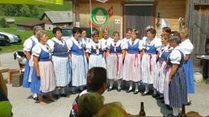 Singchörli Laad am Buure-Sunntig Dergeten