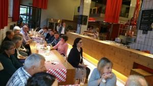 interessierte Gwerbler im Kornhausbräu